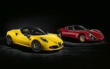 Обои автомобили Alfa Romeo 4C Spider - 2015