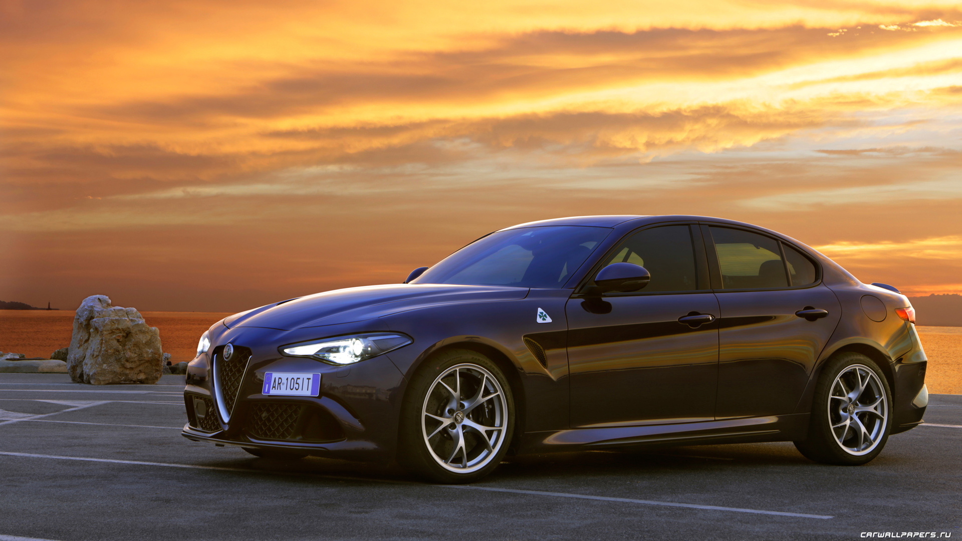 Cars Desktop Wallpapers Alfa Romeo Giulia Quadrifoglio 2016