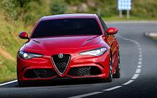 Обои автомобили Alfa Romeo Giulia Quadrifoglio - 2016
