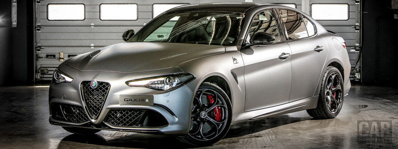 Обои автомобили Alfa Romeo Giulia Quadrifoglio NRING - 2018 - Car wallpapers