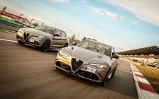 Обои автомобили Alfa Romeo Giulia Quadrifoglio NRING - 2018