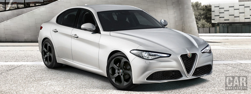 Обои автомобили Alfa Romeo Giulia Tech - 2018 - Car wallpapers