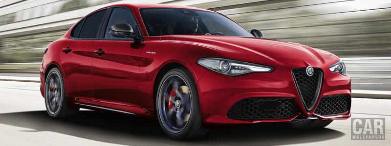 Обои автомобили Alfa Romeo Giulia Veloce Ti Q4 - 2018 - Car wallpapers