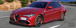 Alfa Romeo Giulia Quadrifoglio - 2016