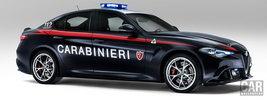 Alfa Romeo Giulia Quadrifoglio Carabinieri - 2016