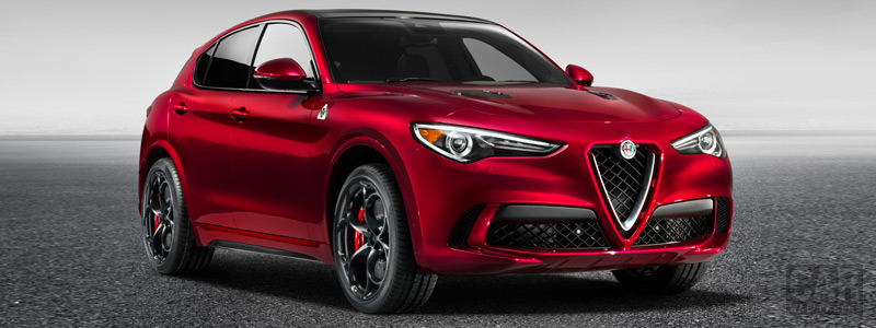 Обои автомобили Alfa Romeo Stelvio Quadrifoglio - 2017 - Car wallpapers