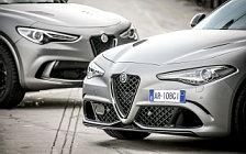Обои автомобили Alfa Romeo Stelvio Quadrifoglio NRING - 2018