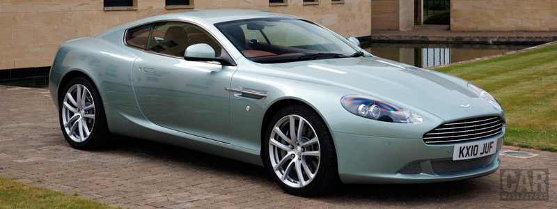 Обои автомобили Aston Martin DB9 Coupe - 2010 - Car wallpapers