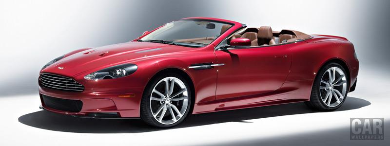 Обои автомобили Aston Martin DBS Volante - 2009 - Car wallpapers