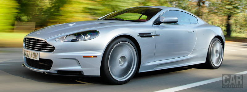 Обои автомобили Aston Martin DBS Lightning Silver - 2008 - Car wallpapers