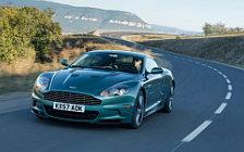 Обои автомобили Aston Martin DBS Racing Green - 2008