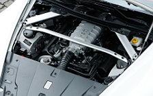 Обои автомобили Aston Martin V8 Vantage Roadster Stratus White - 2008
