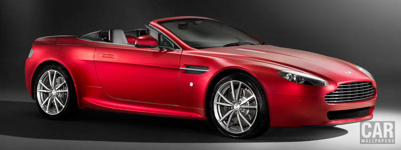 Cars wallpapers Aston Martin V8 Vantage Roadster - 2010 - Car wallpapers