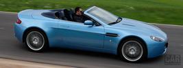 Aston Martin V8 Vantage Roadster Glacial Blue - 2008