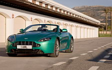 Cars wallpapers Aston Martin V8 Vantage S Roadster Viridian Green - 2011