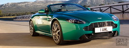 Aston Martin V8 Vantage S Roadster Viridian Green - 2011