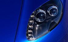 Обои автомобили Aston Martin V8 Vantage S Cobalt Blue - 2011