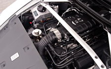 Обои автомобили Aston Martin V8 Vantage S Stratus White - 2011
