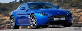 Aston Martin V8 Vantage S Cobalt Blue - 2011