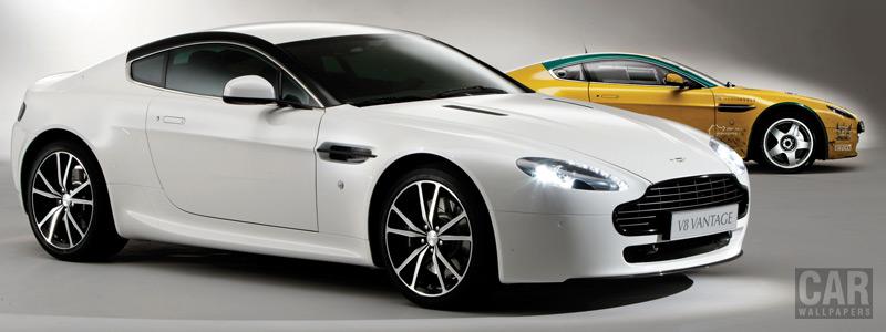 Обои автомобили Aston Martin V8 Vantage N420 - 2010 - Car wallpapers