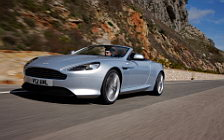 Cars wallpapers Aston Martin Virage Volante Lightning Silver - 2011