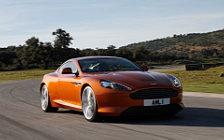 Обои автомобили Aston Martin Virage Madagascar Orange - 2011