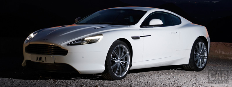 Обои автомобили Aston Martin Virage Stratus White - 2011 - Car wallpapers
