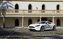 Обои автомобили Aston Martin Virage Stratus White - 2011