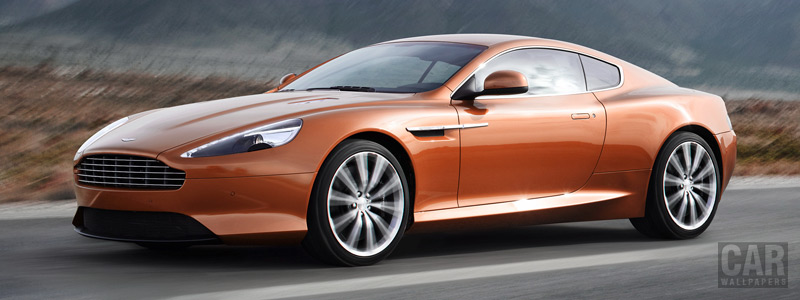Обои автомобили Aston Martin Virage - 2011 - Car wallpapers