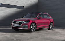 Обои автомобили Audi Q5L 45 TFSI quattro S line China-spec - 2018