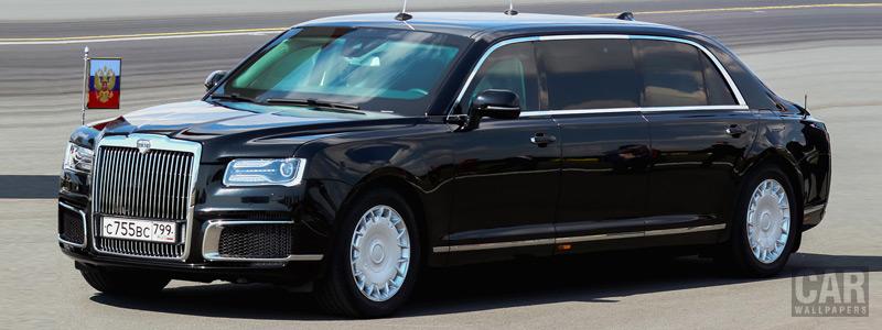 Обои автомобили Aurus Senat Limousine L700 - 2018 - Car wallpapers
