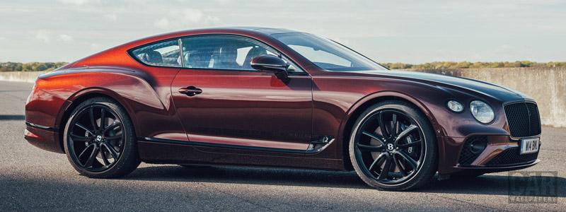 Обои автомобили Bentley Continental GT (Cricket Ball) UK-spec - 2020 - Car wallpapers