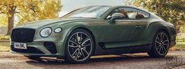 Bentley Continental GT V8 (Alpine Green) UK-spec - 2020
