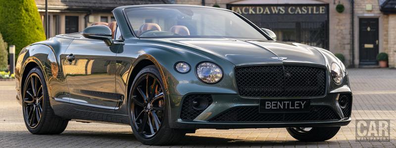 Обои автомобили Bentley Mulliner Continental GT Convertible Equestrian Edition UK-spec - 2020 - Car wallpapers