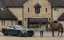 Обои автомобили Bentley Mulliner Continental GT Convertible Equestrian Edition UK-spec - 2020