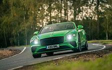 Обои автомобили Bentley Continental GT V8 Convertible (Apple Green) UK-spec - 2020