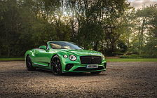 Обои автомобили Bentley Continental GT V8 Convertible (Apple Green) UK-spec - 2020