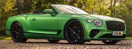 Bentley Continental GT V8 Convertible (Apple Green) UK-spec - 2020