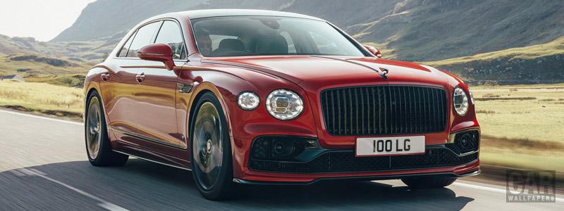Обои автомобили Bentley Flying Spur V8 UK-spec - 2020 - Car wallpapers