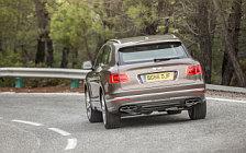 Обои автомобили Bentley Bentayga Diesel (Dark Cashmere) - 2016