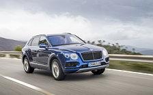Обои автомобили Bentley Bentayga Diesel (Sequin Blue) - 2016