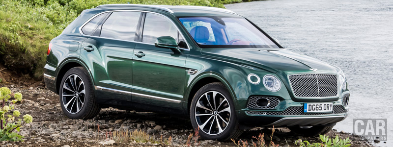 Cars wallpapers Bentley Bentayga Fly Fishing by Mulliner - 2016 - Car wallpapers