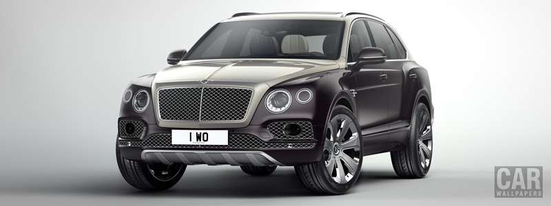 Обои автомобили Bentley Bentayga Mulliner - 2017 - Car wallpapers
