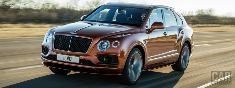 Обои автомобили Bentley Bentayga Speed - 2019 - Car wallpapers