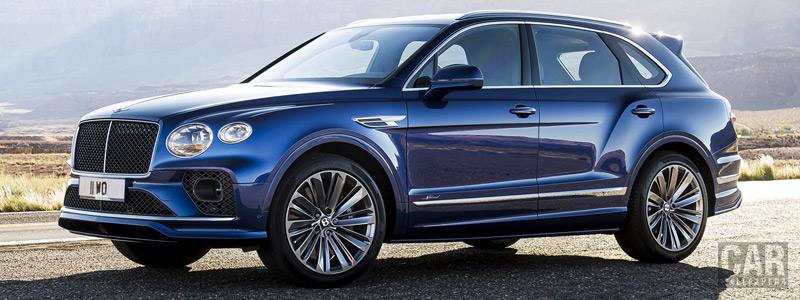 Обои автомобили Bentley Bentayga Speed - 2020 - Car wallpapers