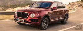 Bentley Bentayga Diesel (Rubino Red) - 2016