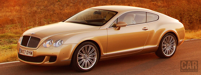 Cars wallpapers Bentley Continental GT Speed - 2007 - Car wallpapers