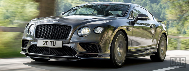 Cars wallpapers Bentley Continental Supersports - 2017 - Car wallpapers