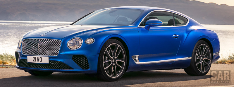 Обои автомобили Bentley Continental GT - 2017 - Car wallpapers