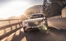 Обои автомобили Bentley Continental GT (Extreme Silver) - 2018